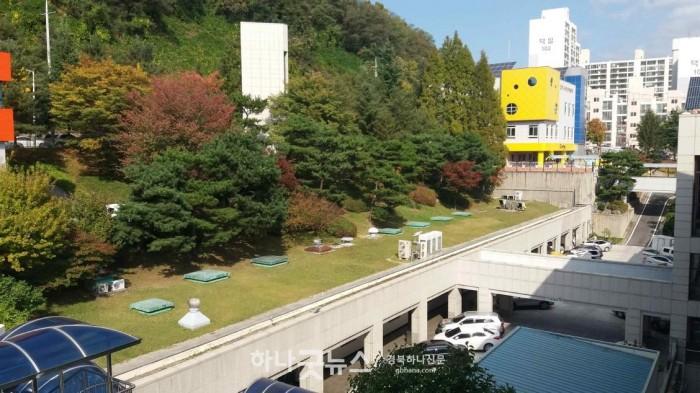 김천시 주차타워 건립, 민원인 주차난 해소-회계과(사진1).jpg