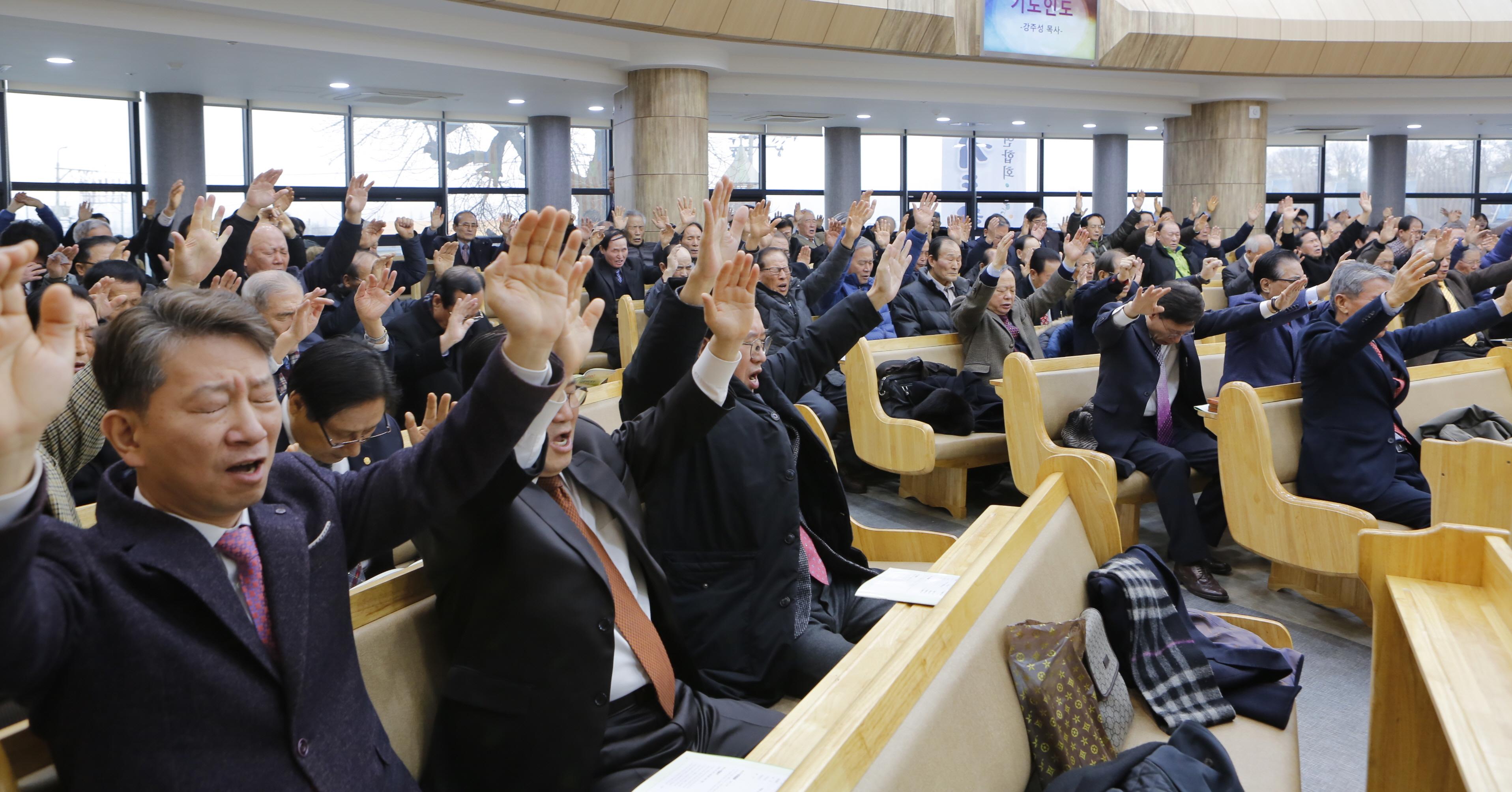 합동전국장로회연합회, 괴평교회에서 '구국금식기도회' 개최