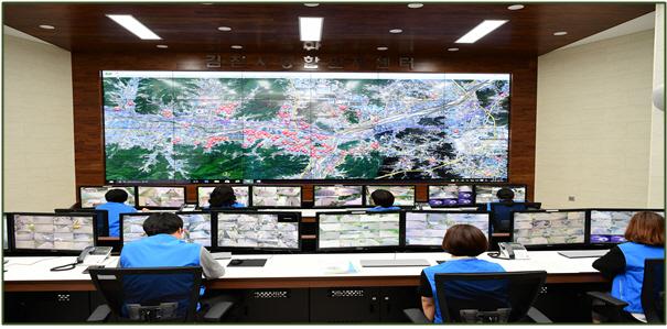 경북교육청, 전국 최초 중학교 CCTV 통합관제센터 연계