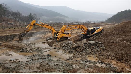 경산시, 우수기 대비 주요 건설 현장 기동감찰 실시