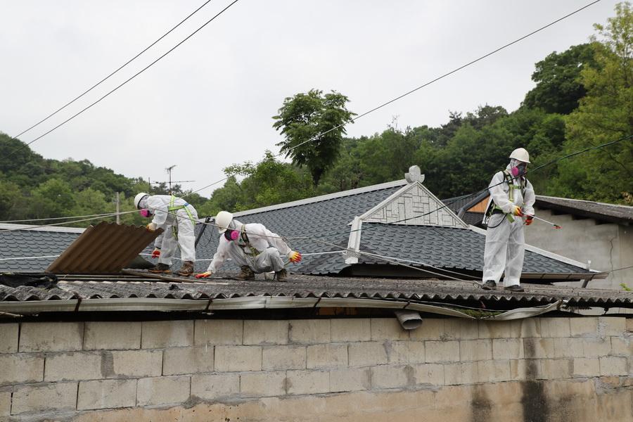 예천군, 슬레이트 철거·지붕개량 지원 사업 대폭 확대 추진