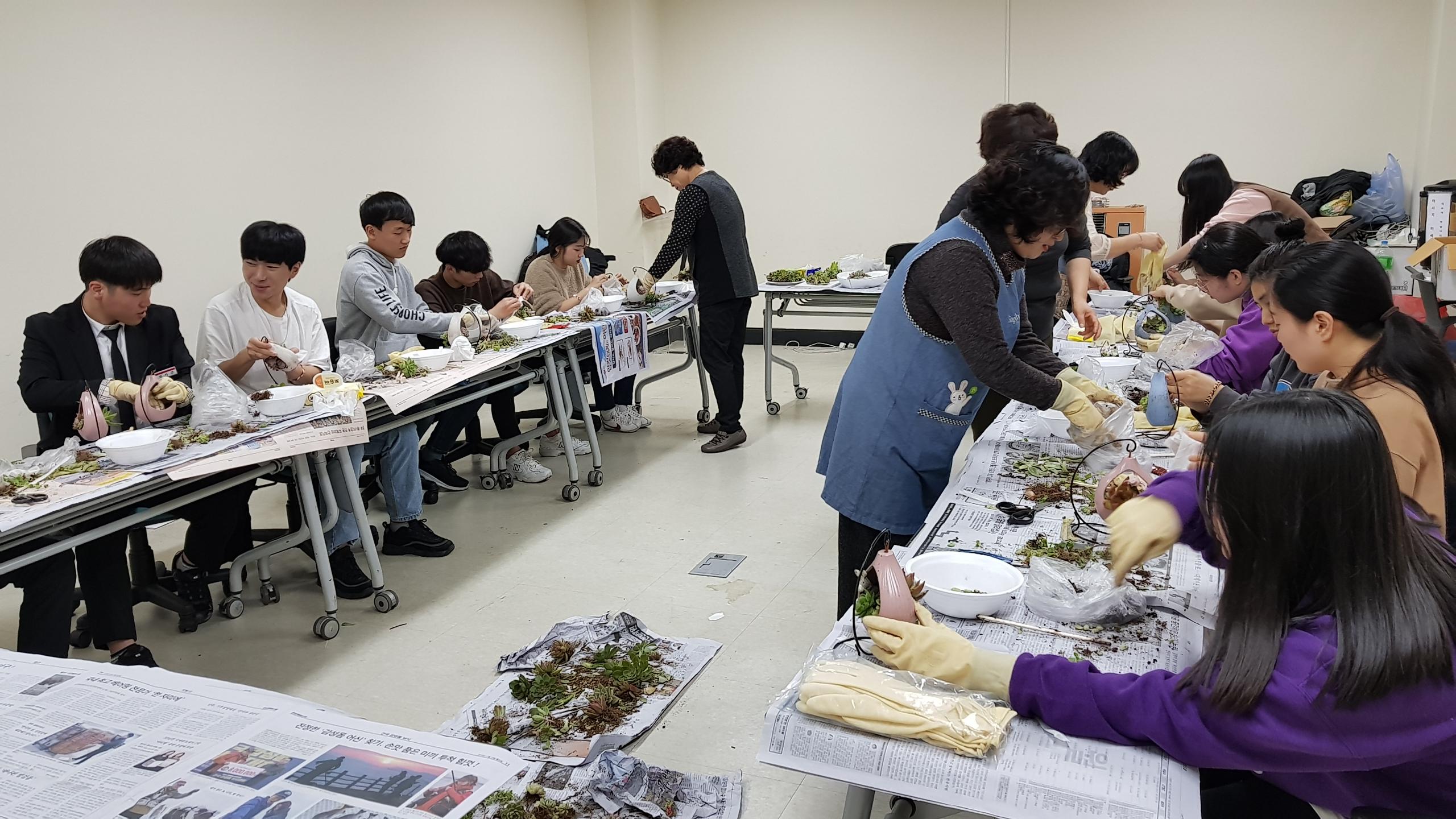 2018년 울릉군 고3청소년 자원봉사 및 사회적응프로그램 운영 개최