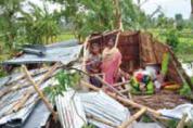 방글라데시, 싸이클론 '암판' 피해, 오픈도어 긴급구호 나서