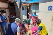 울진 죽변면 민관단체, 태풍 피해 복구 활동 펼쳐