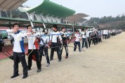 예천군, 일본 양궁선수들 선진 양궁 배우기 위해 예천 찾다