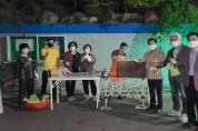 한국국제기드온협회 영주캠프, 석포교회와 함께 성경 배포