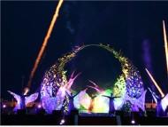강구항에 펼쳐진'영덕 판타지'왕의 대게 축제 개막