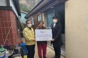 울릉로타리 클럽, 화재 복구비 500만 원 지원