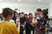 결혼이민여성을 위한 '커피 바리스타 2급 자격증반' 운영