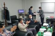봉화신협, 장학금 200만원 전달