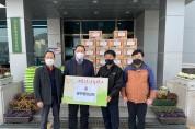 경산중앙교회, 성금·쌀 기탁으로 사랑 실천