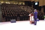 경북소방학교, 새내기 소방공무원 219명 졸업... 힘찬 도약!