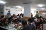 구미 광평교회, 경로당 어르신 식사 대접