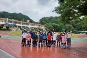 김천 조마면 기관장, 지역 체육 교육의 중심 조마초 방문