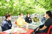 김천농업의 미래, 청년농부와의 만남