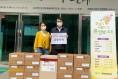 혁신중앙교회, '사랑의 마스크' 나눔 사역 펼쳐