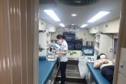 경북IT융합산업기술원, 혈액 수급난 극복 위한 단체헌혈 동참