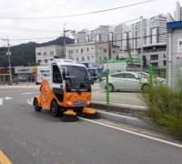 김천시 친환경 전기소형노면청소차 도입