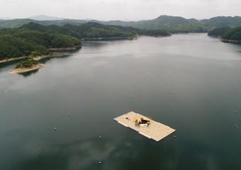 국내 최초 호수 위에 열리는 생태음악회 '안동호 쇠제비갈매기의 꿈'