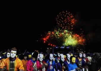 안동국제탈춤페스티벌2018 & 제47회 안동민속축제 화려한 개막